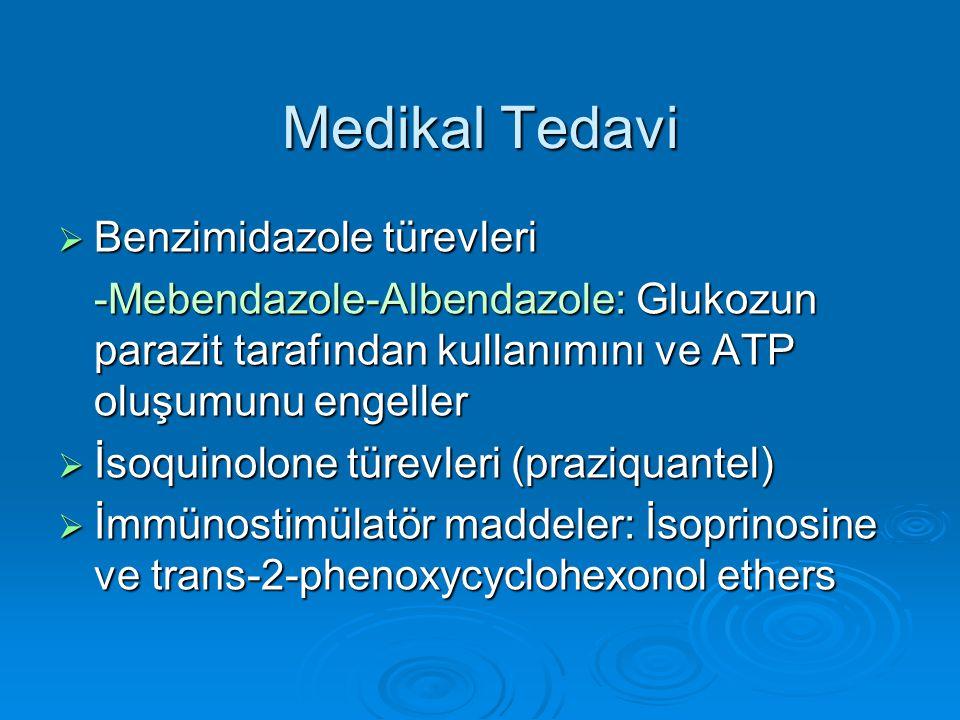 Medikal Tedavi Benzimidazole türevleri