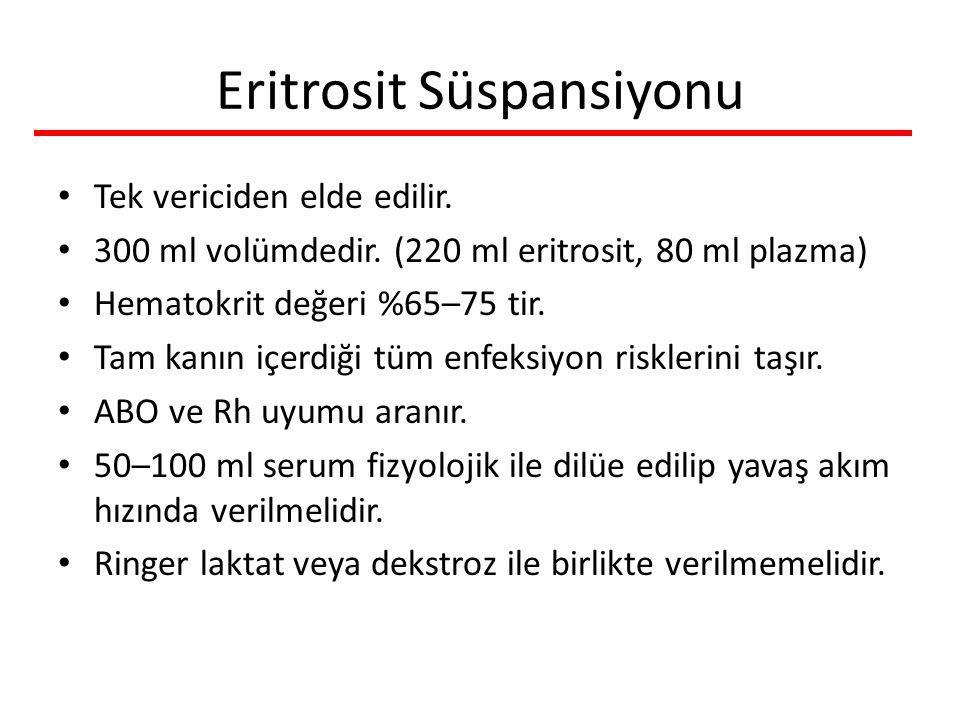 Eritrosit Süspansiyonu