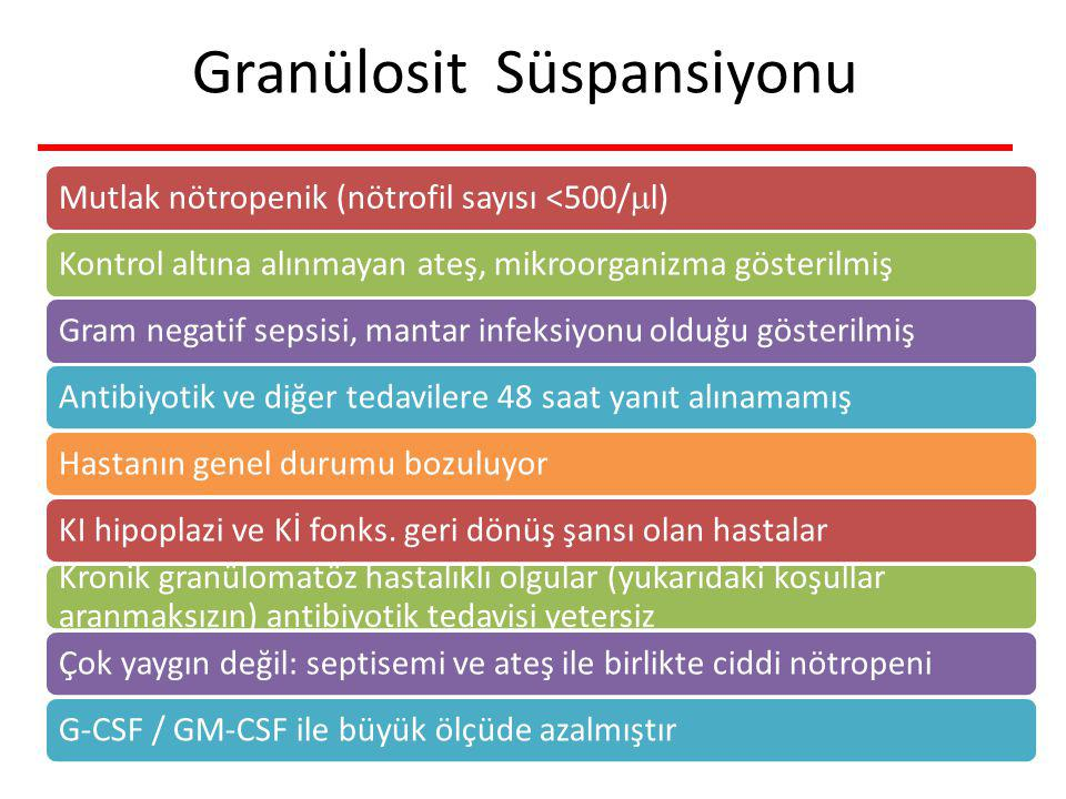 Granülosit Süspansiyonu