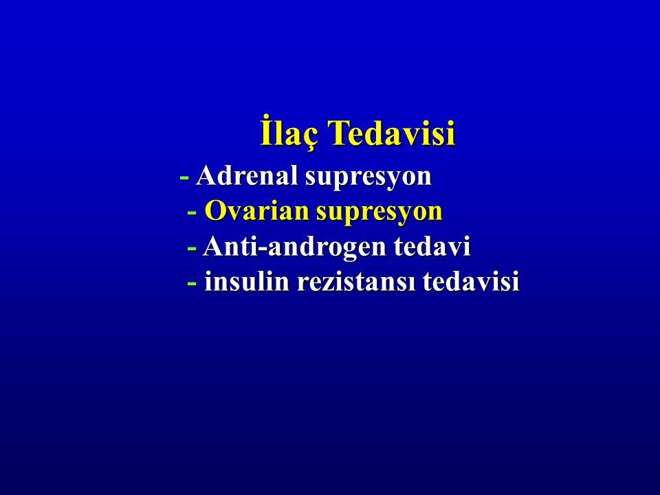 İlaç Tedavisi - Adrenal supresyon - Ovarian supresyon