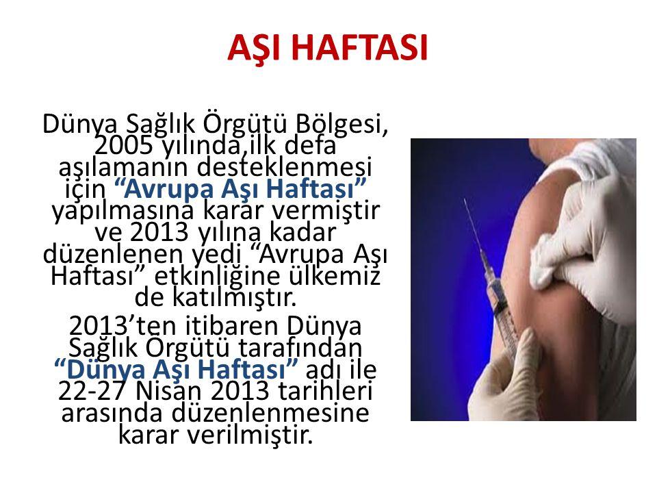 AŞI HAFTASI