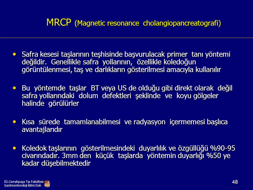 MRCP (Magnetic resonance cholangiopancreatografi)