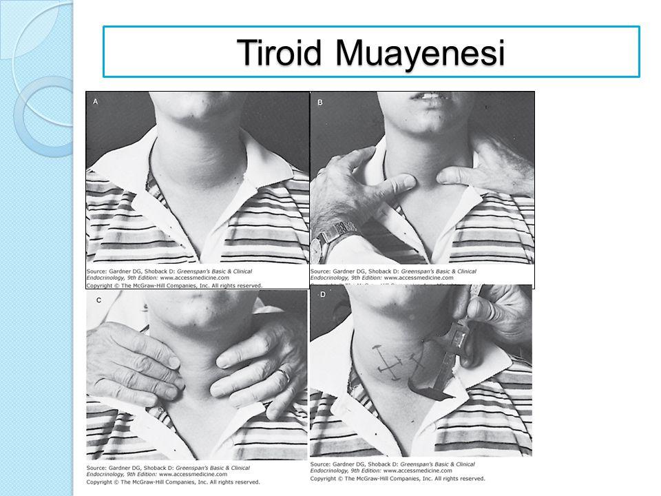 Tiroid Muayenesi