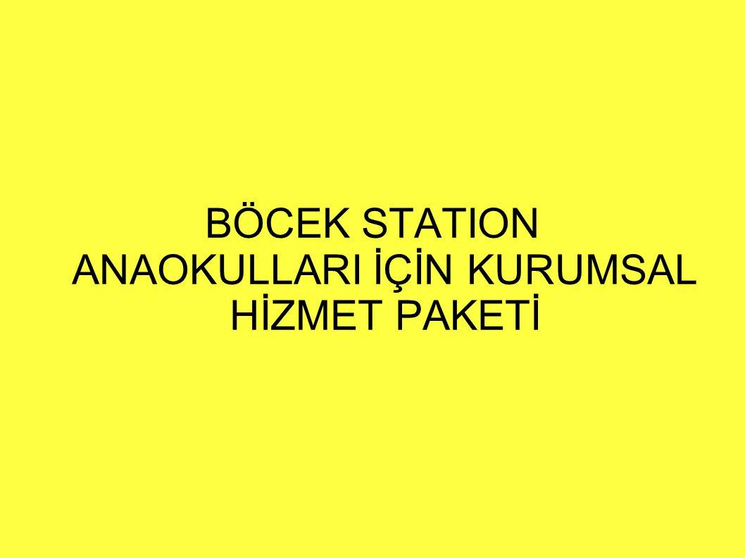 BÖCEK STATION ANAOKULLARI İÇİN KURUMSAL HİZMET PAKETİ