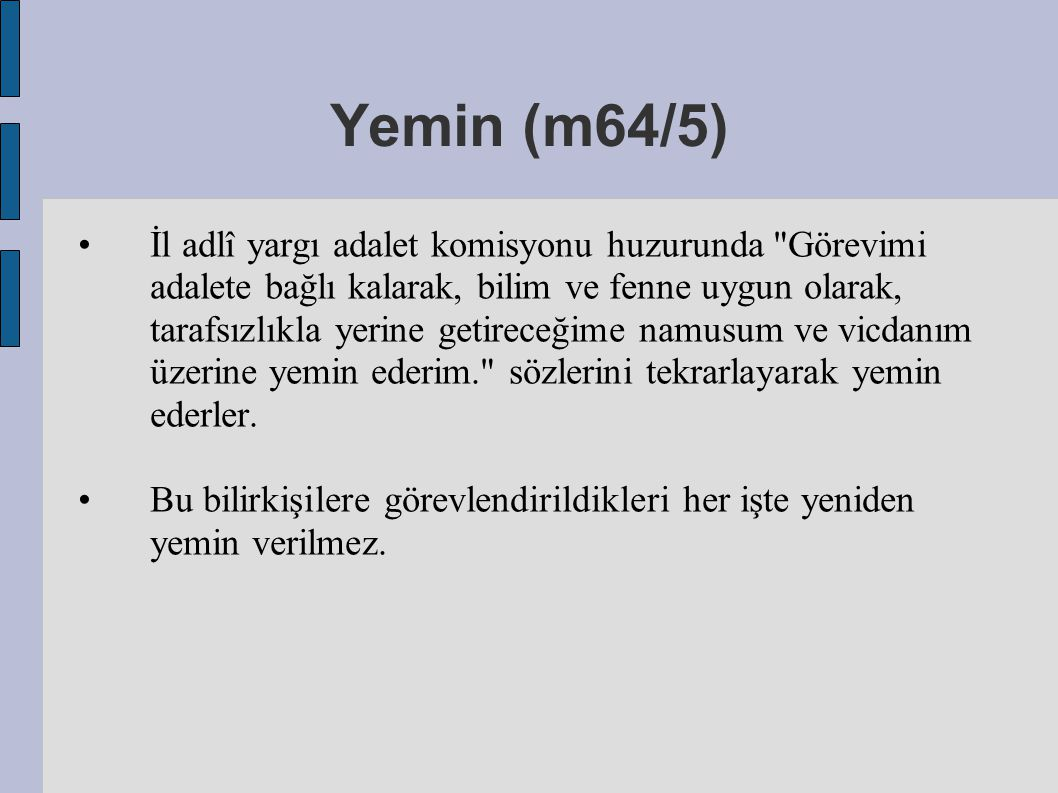 Yemin (m64/5)