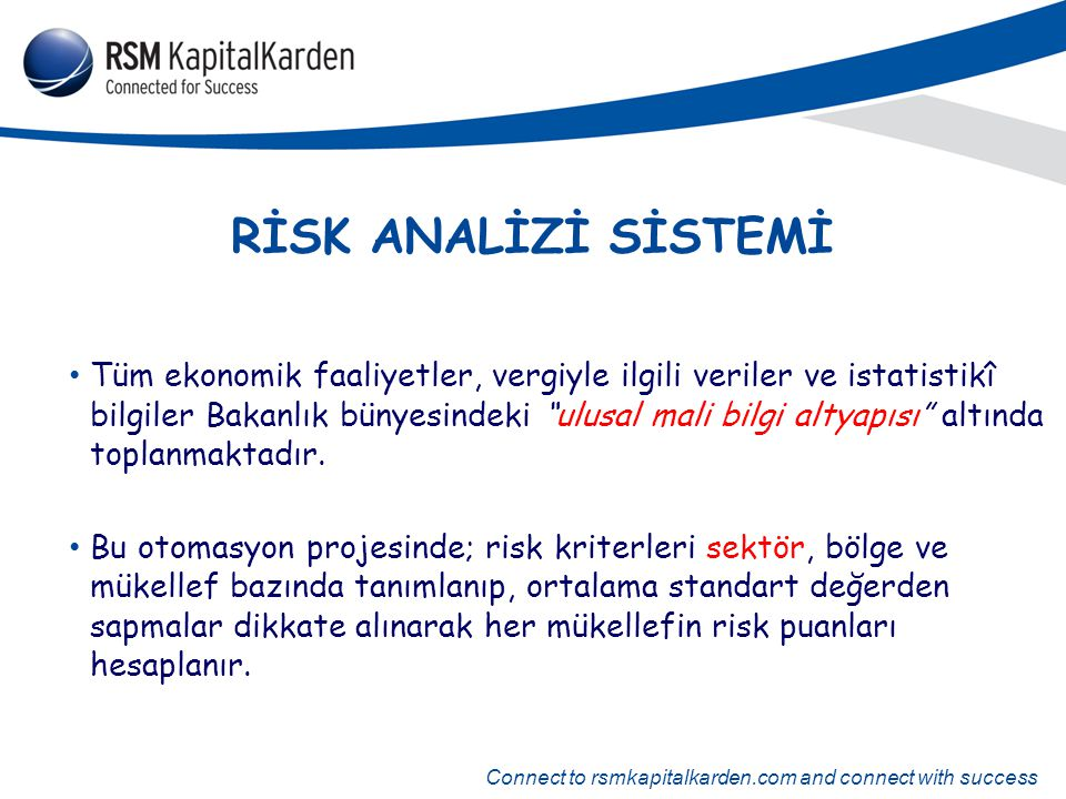 RİSK ANALİZİ SİSTEMİ