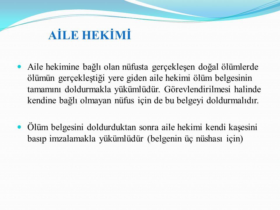 AİLE HEKİMİ