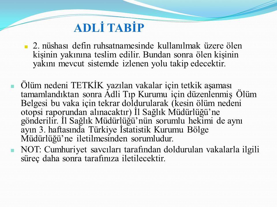 ADLİ TABİP
