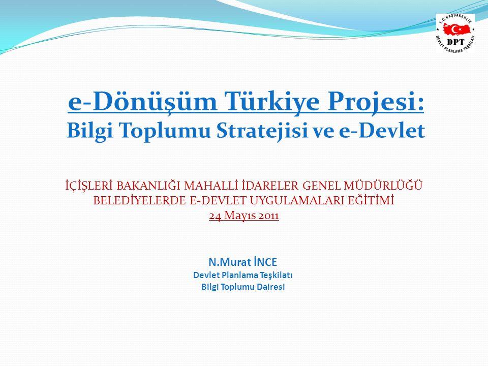 e-Dönüşüm Türkiye Projesi: