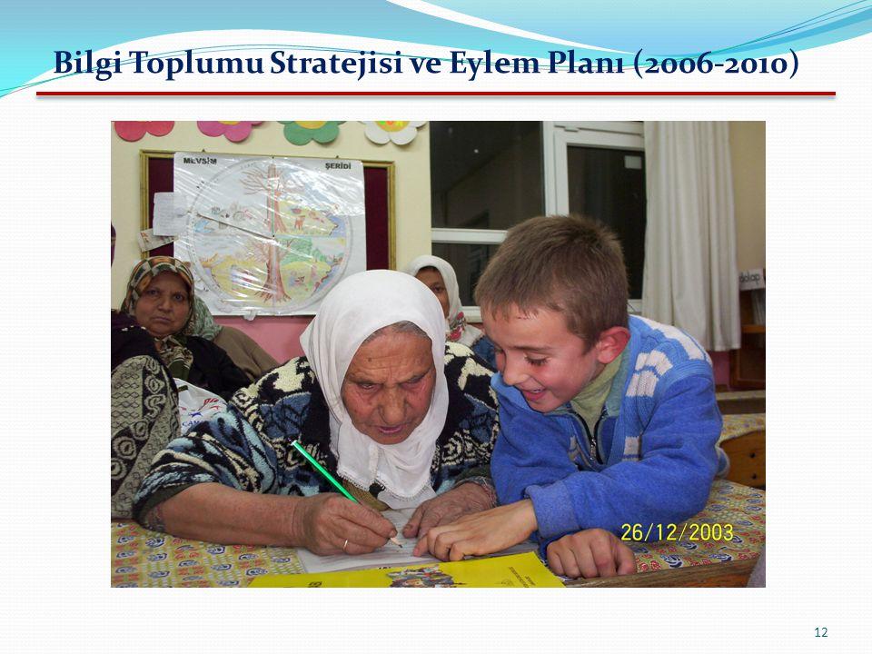 Bilgi Toplumu Stratejisi ve Eylem Planı (2006-2010)