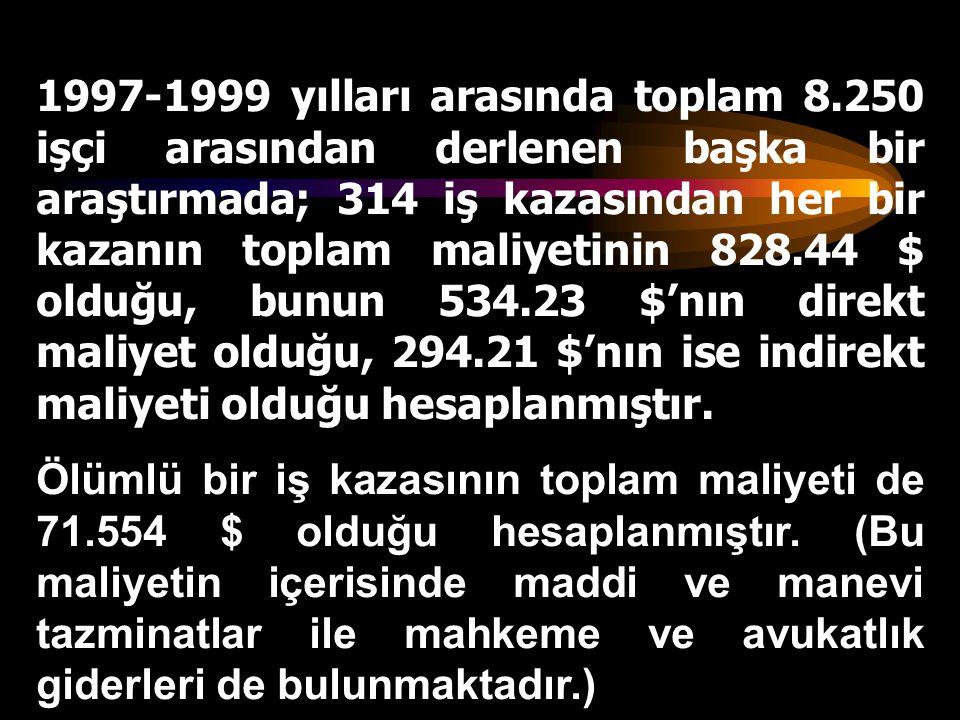 1997-1999 yılları arasında toplam 8
