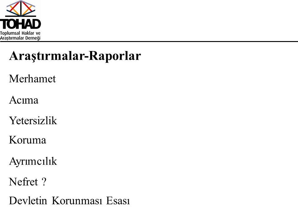 Araştırmalar-Raporlar