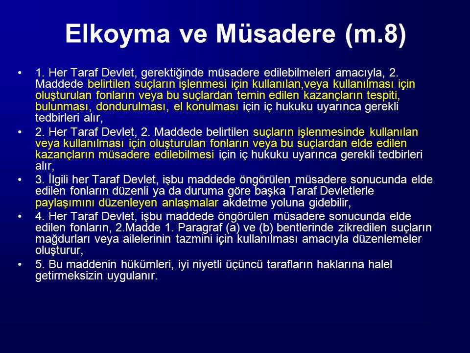 Elkoyma ve Müsadere (m.8)
