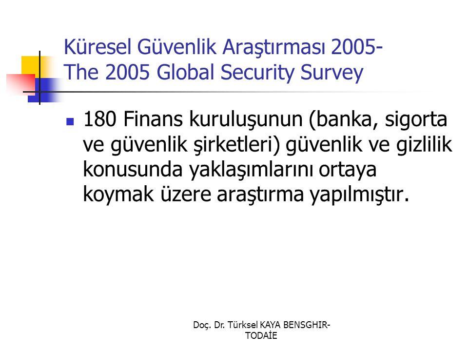 Küresel Güvenlik Araştırması 2005- The 2005 Global Security Survey