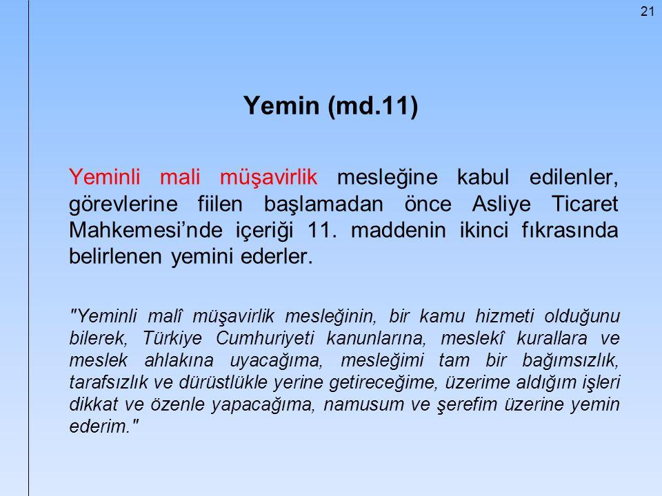 Yemin (md.11)
