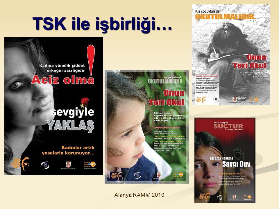 TSK ile işbirliği… Alanya RAM © 2010 67