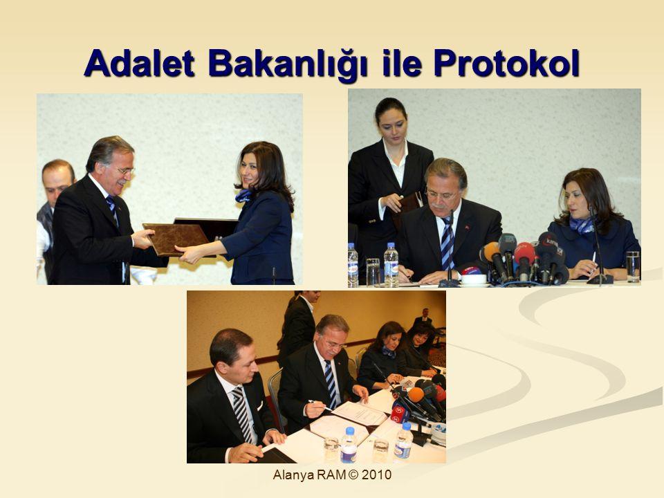 Adalet Bakanlığı ile Protokol