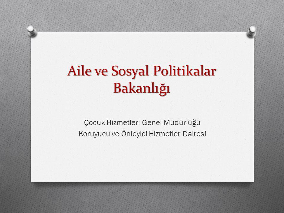 Aile ve Sosyal Politikalar Bakanlığı