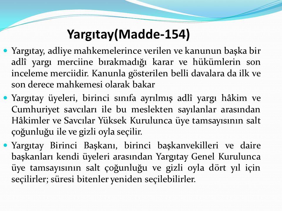 Yargıtay(Madde-154)