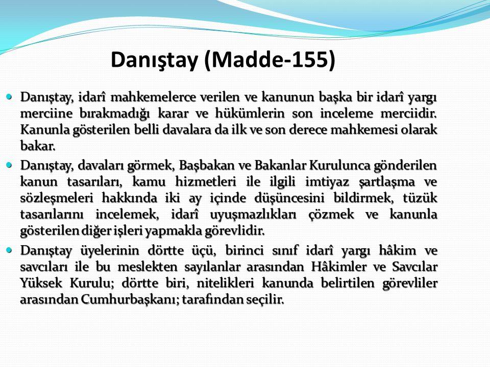 Danıştay (Madde-155)