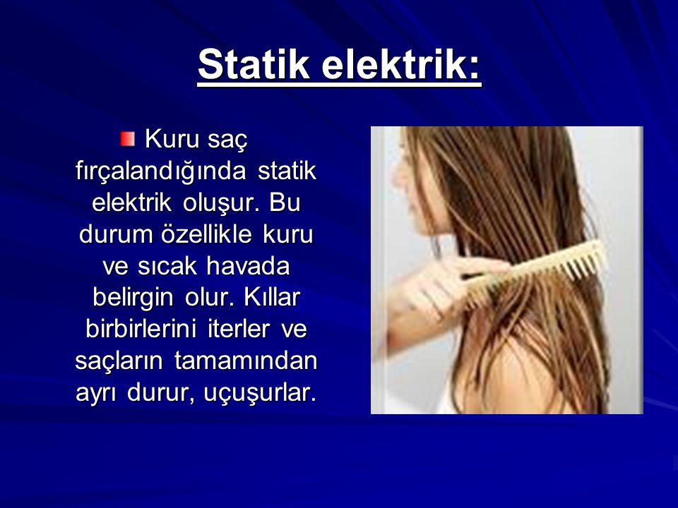 Statik elektrik: