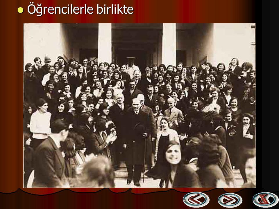 Öğrencilerle birlikte