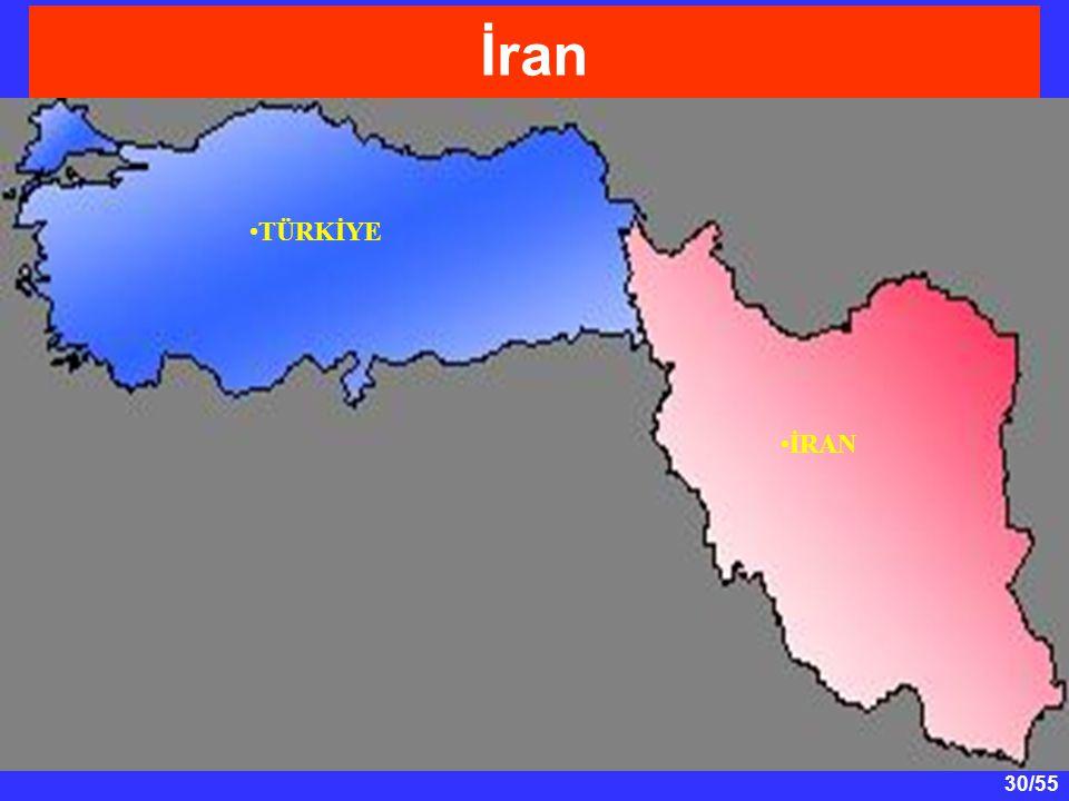 İran TÜRKİYE İRAN