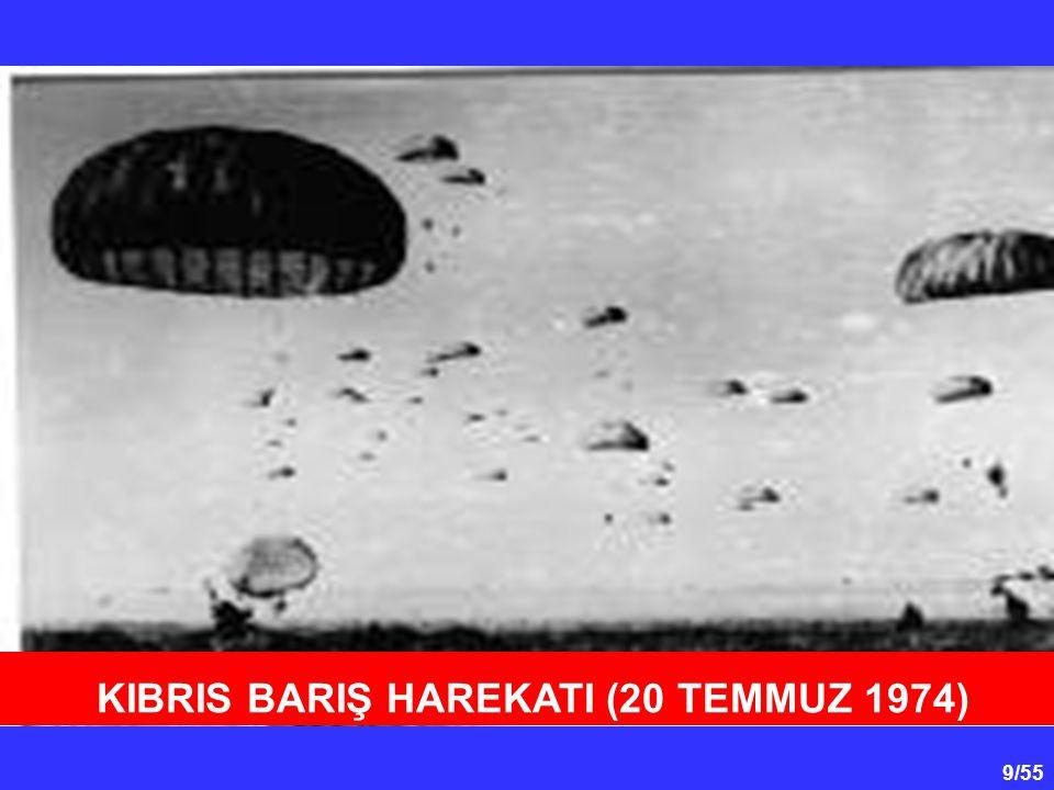 KIBRIS BARIŞ HAREKATI (20 TEMMUZ 1974)