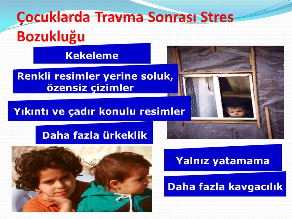 Çocuklarda Travma Sonrası Stres Bozukluğu