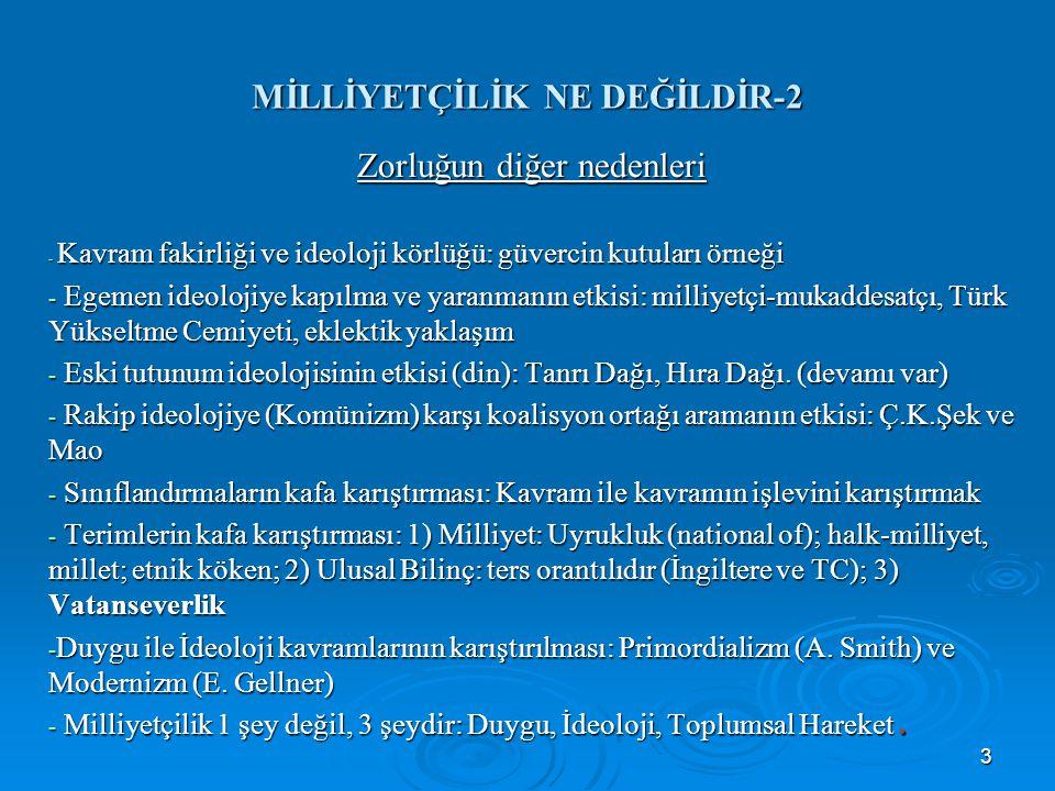 MİLLİYETÇİLİK NE DEĞİLDİR-2