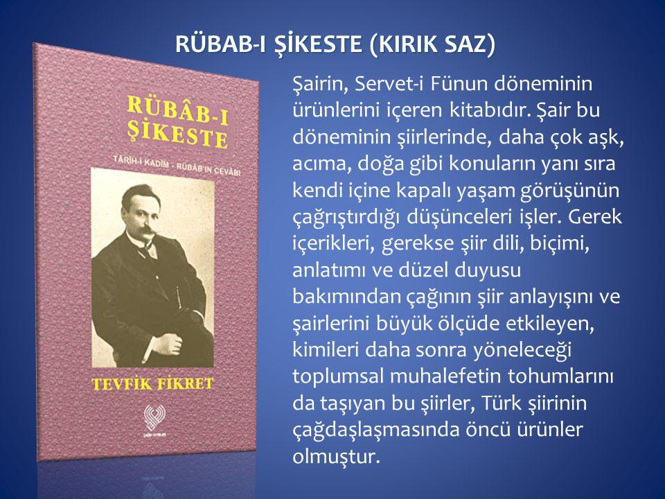 RÜBAB-I ŞİKESTE (KIRIK SAZ)