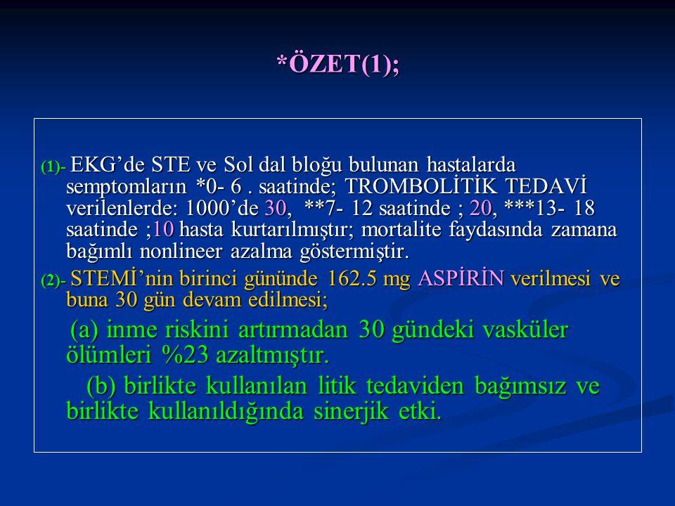 *ÖZET(1);