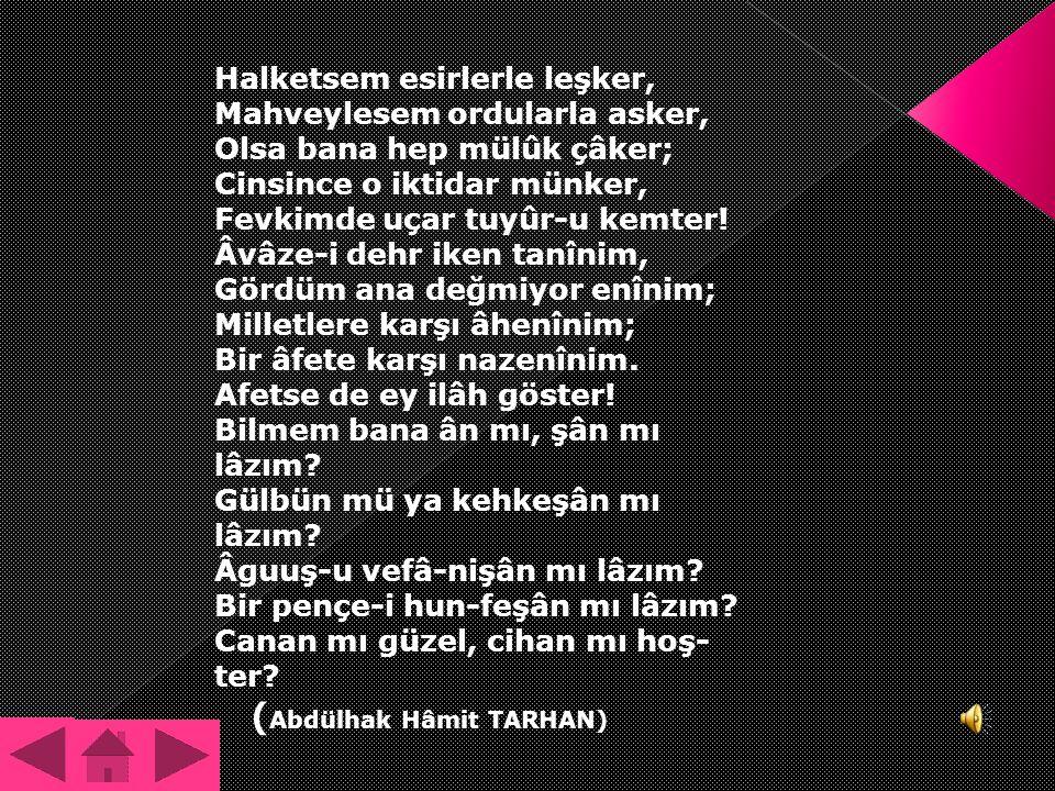 (Abdülhak Hâmit TARHAN)