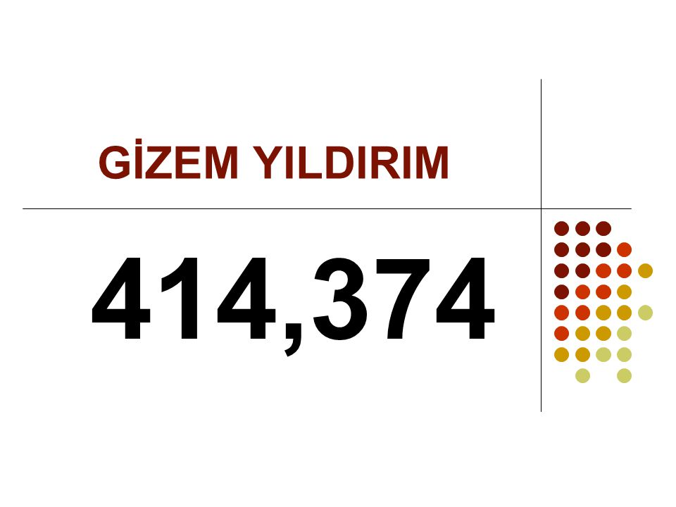 GİZEM YILDIRIM 414,374