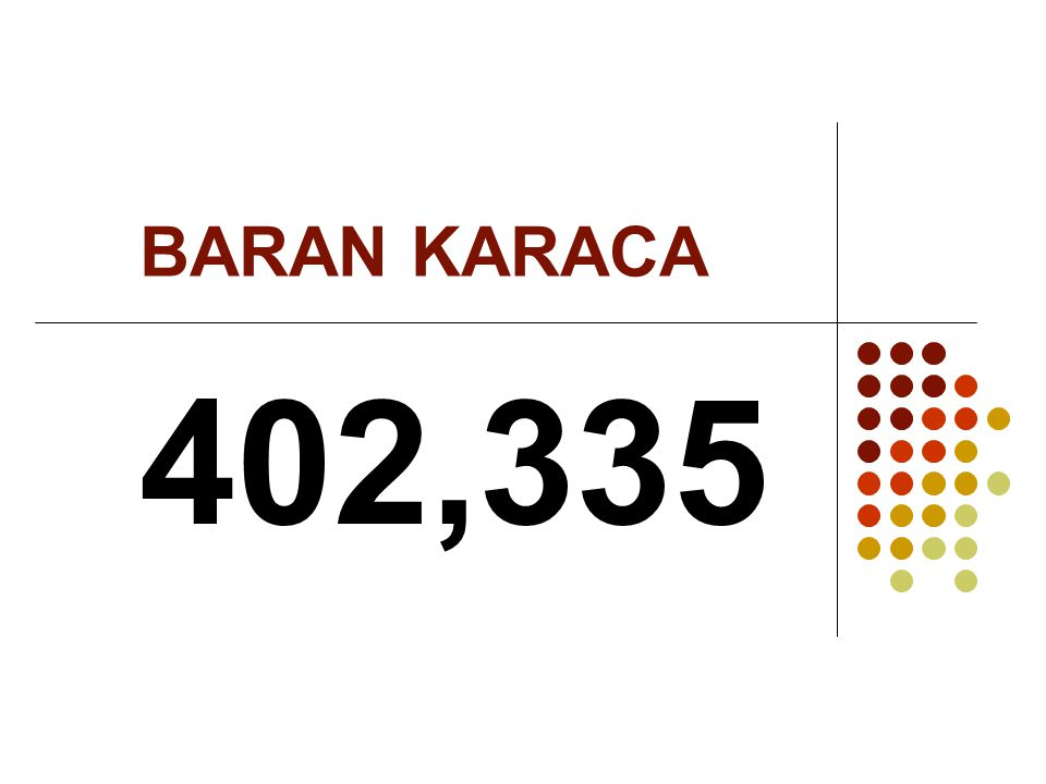 BARAN KARACA 402,335