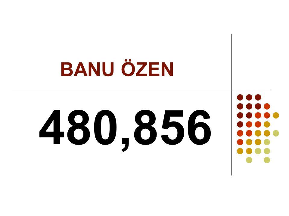 BANU ÖZEN 480,856