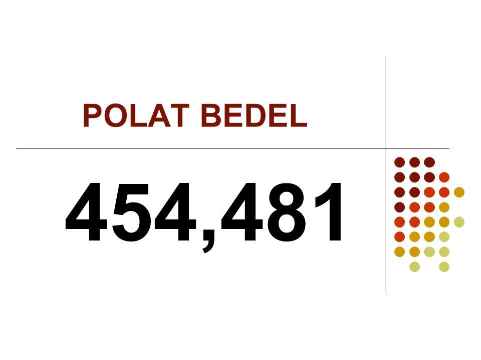 POLAT BEDEL 454,481