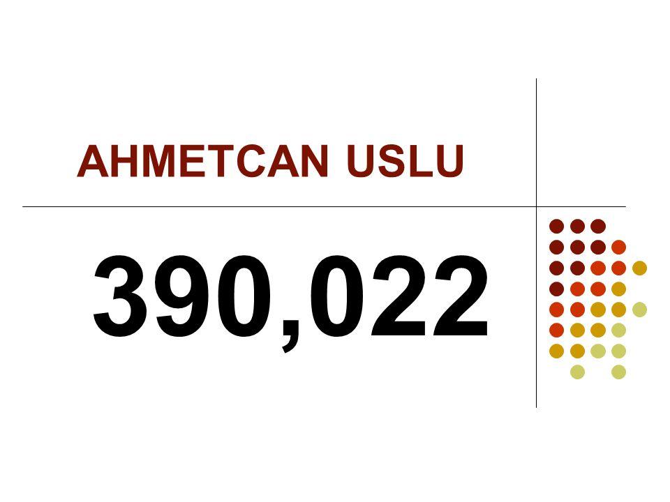 AHMETCAN USLU 390,022