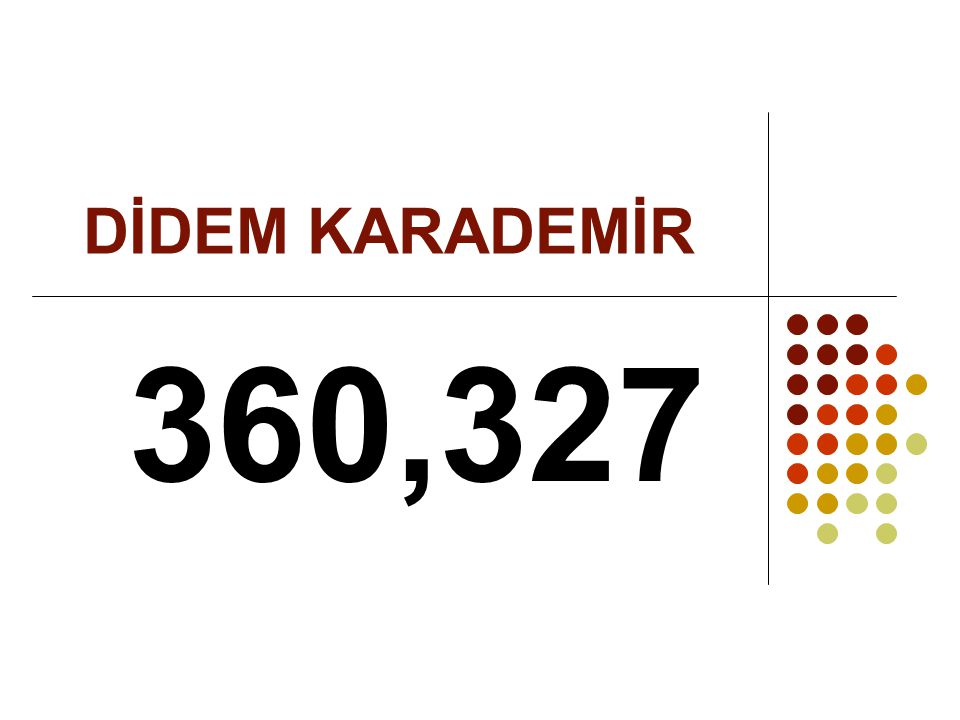 DİDEM KARADEMİR 360,327