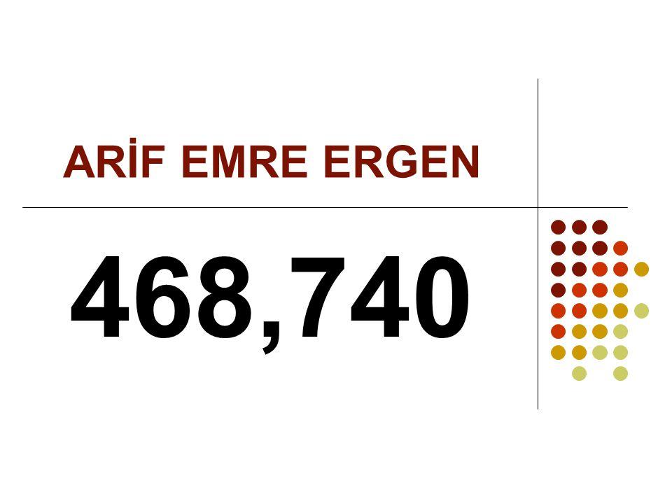 ARİF EMRE ERGEN 468,740