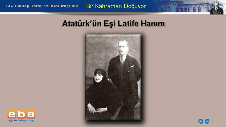 Atatürk'ün Eşi Latife Hanım