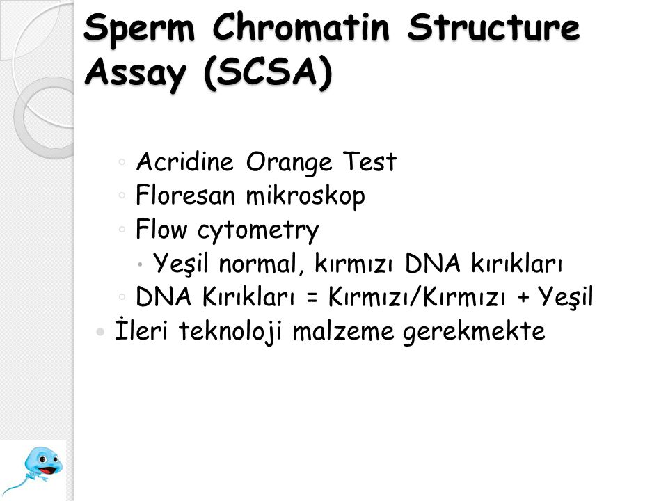 Sperm Chromatin Structure Assay (SCSA)