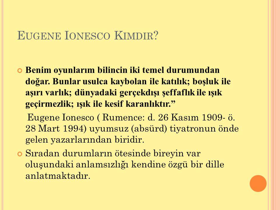 Eugene Ionesco Kimdir