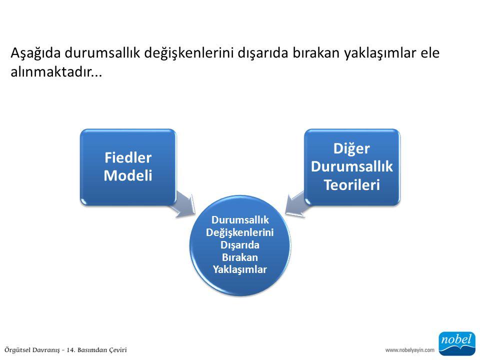 Fiedler Modeli Diğer Durumsallık Teorileri