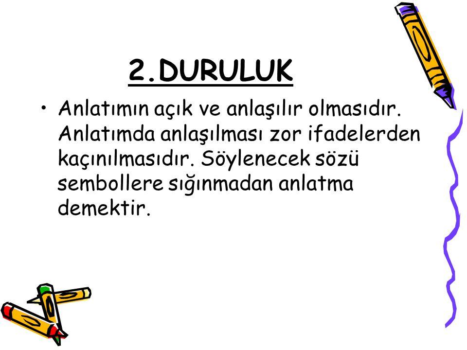 2.DURULUK
