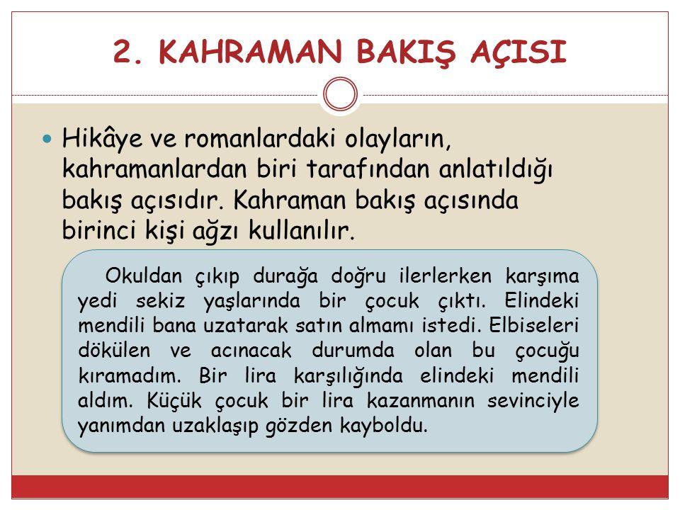 2. KAHRAMAN BAKIŞ AÇISI