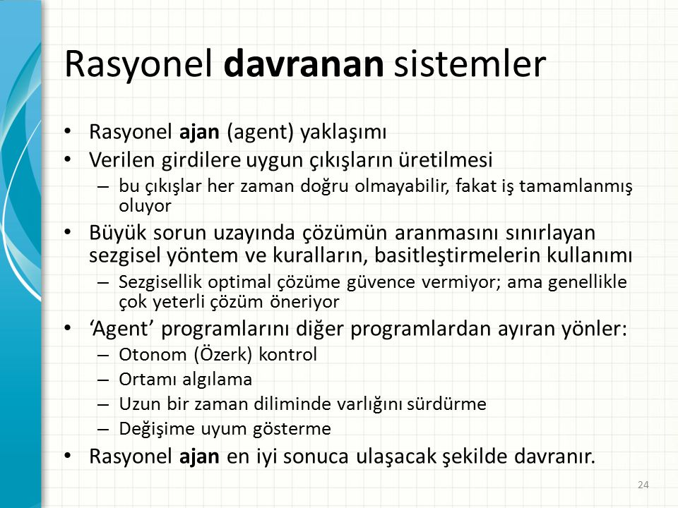 Rasyonel davranan sistemler