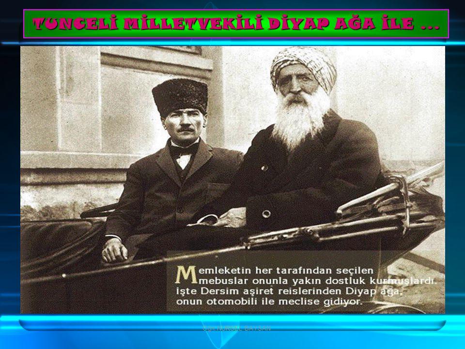 TUNCELİ MİLLETVEKİLİ DİYAP AĞA İLE ...