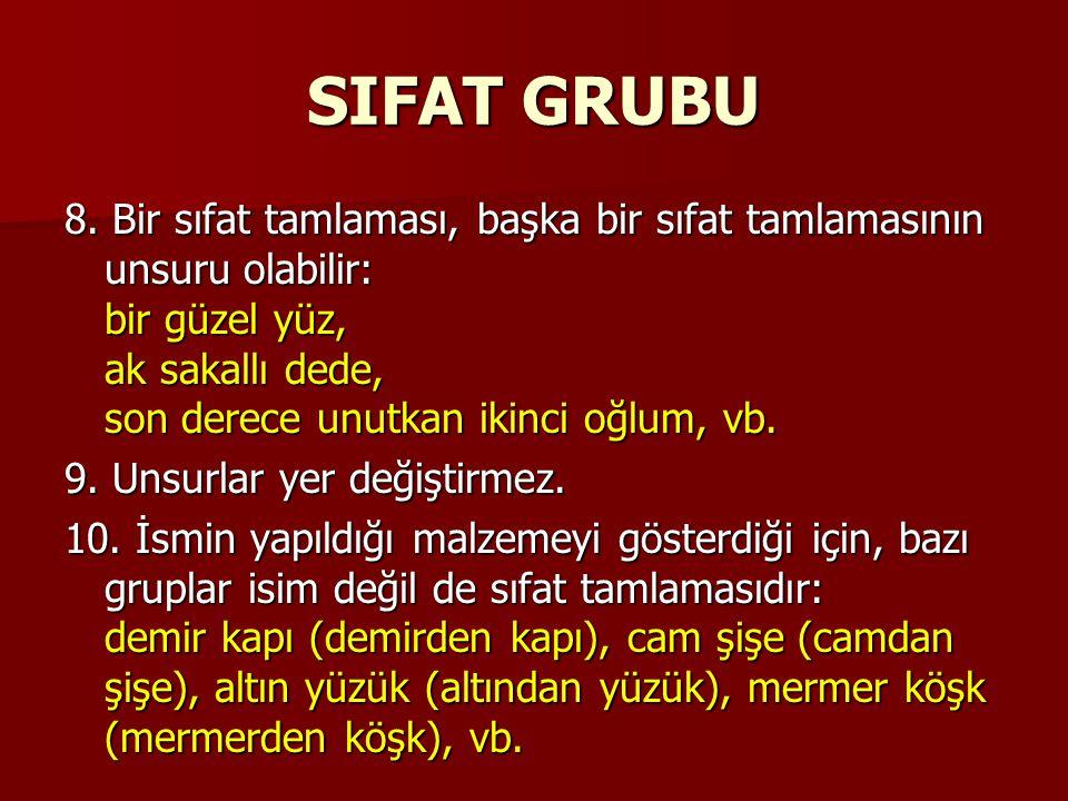 SIFAT GRUBU