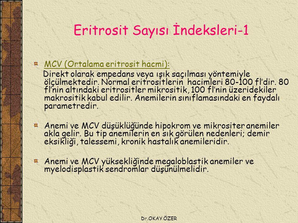 Eritrosit Sayısı İndeksleri-1
